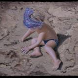 BIMBO SULLA SABBIA / boy on the sand